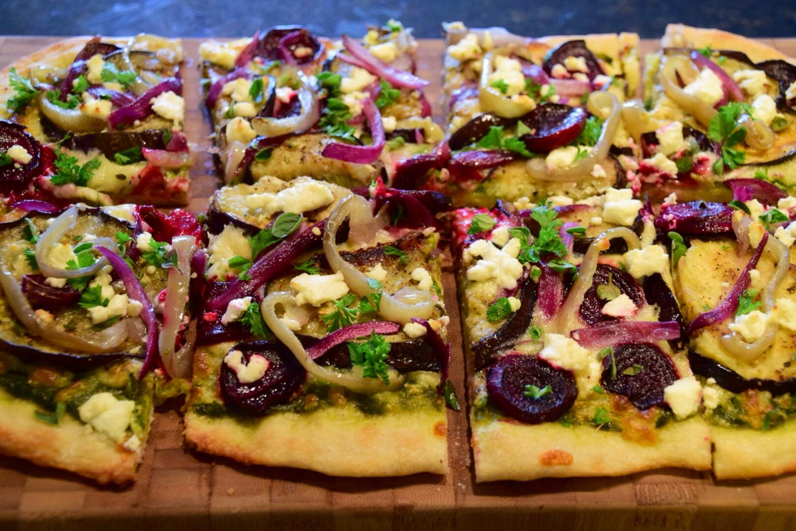 Purple Pizza Eater – In Wanderlust We Trust