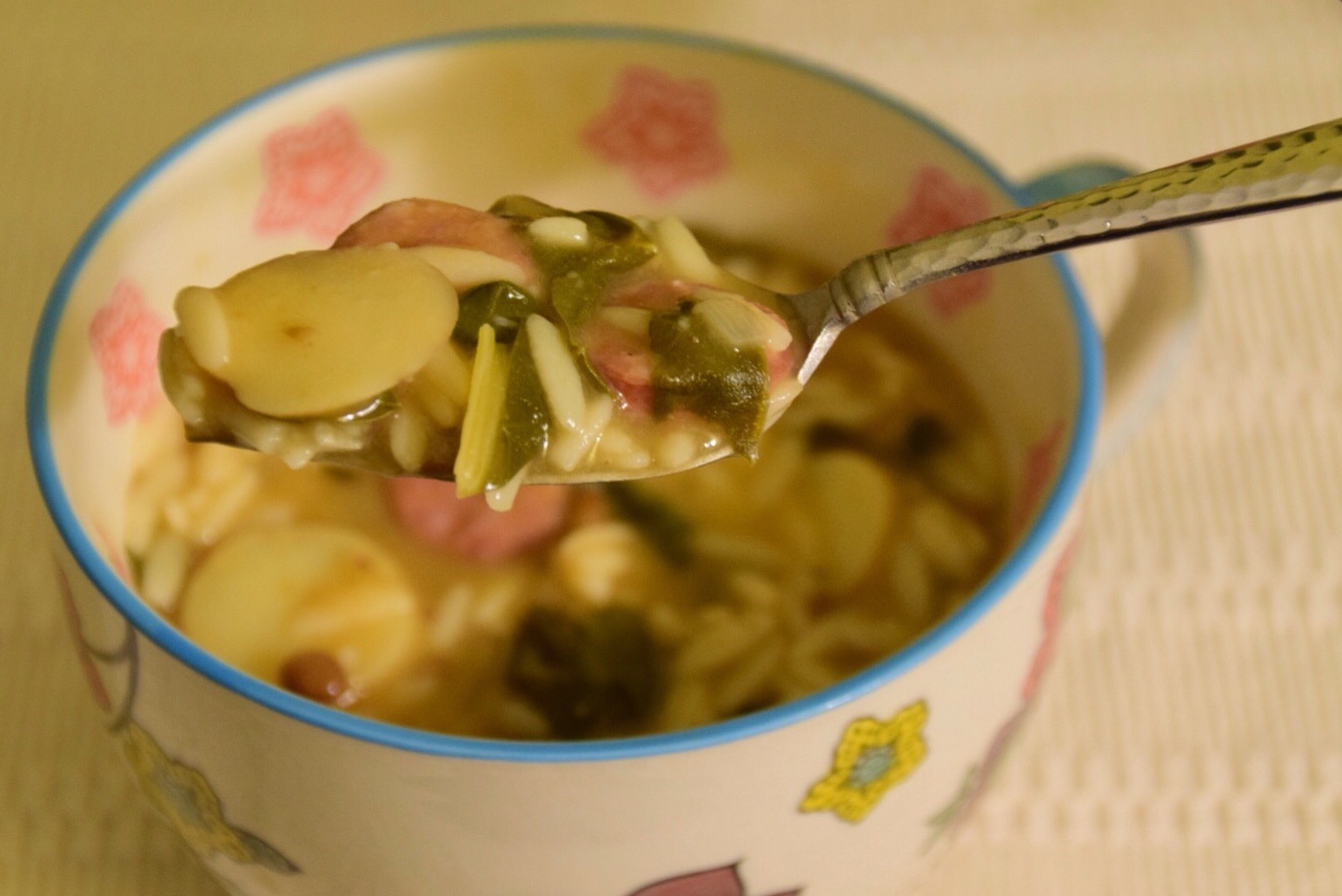 and Orzo Soup with Rainbow Chard, Fingerling Potatoes, and Lentils ...